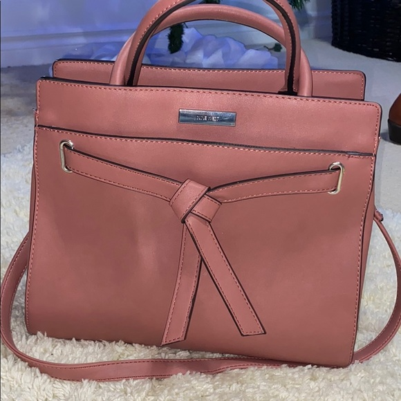 Pink Nine West purse